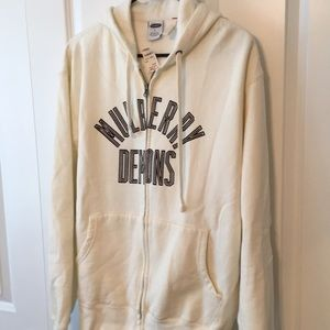 NWT, Ivory (off white) Old Navy Zip up Hoodie